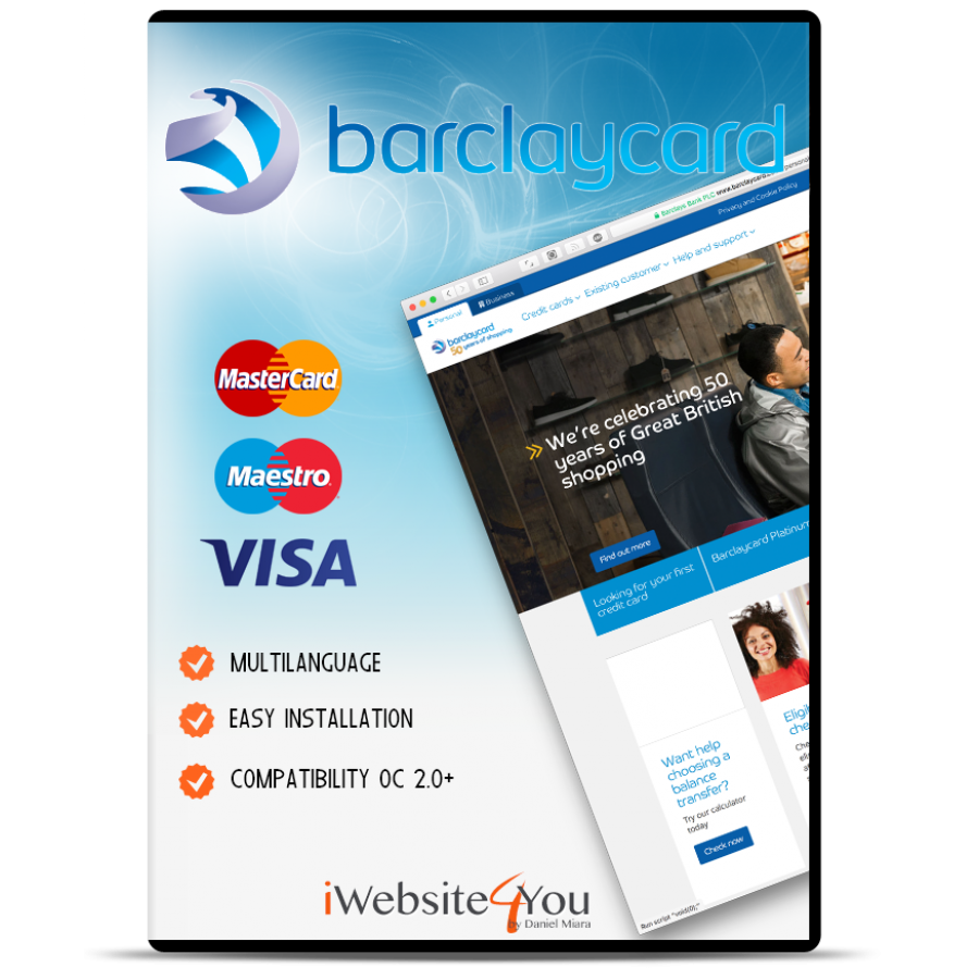 Barclaycard ePDQ Opencart 3