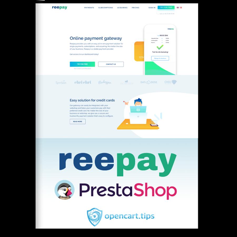 Reepay A/S Prestashop