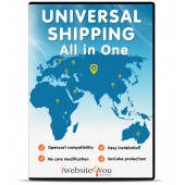 Universal Shipping All in One OpenCart
