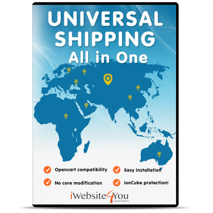 Universal Shipping All in One OpenCart 3