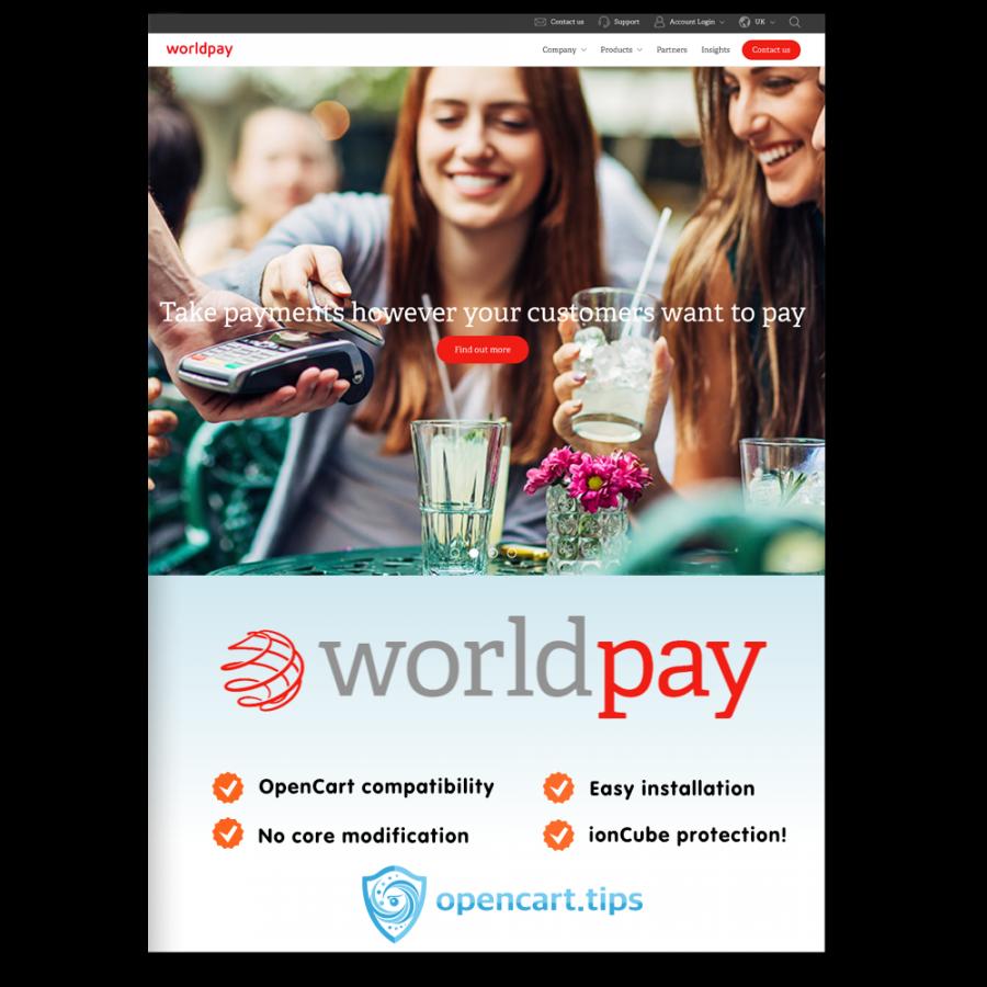 Worldpay Business Gateway  OpenCart 1.5