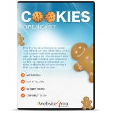 EU Cookie for OpenCart 3