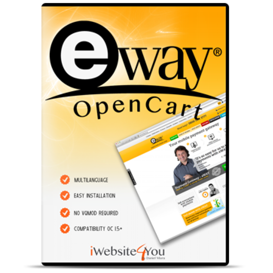 eWay Responsive Shared Page OpenCart 2