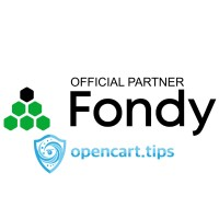 Fondy OpenCart