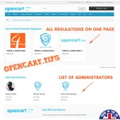 GDPR Opencart 2