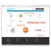 Home Page Manufacturers OpenCart 2