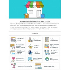 Opencart Marketplace WebKul