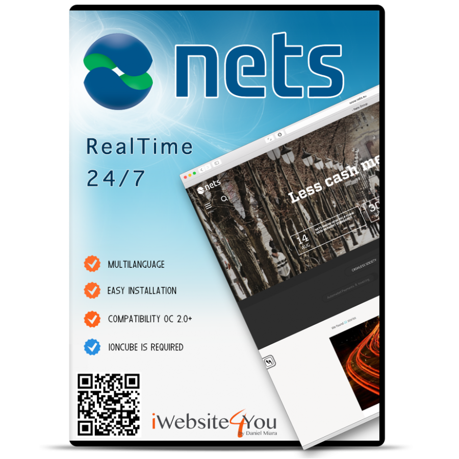 Netaxept Nets OpenCart 2