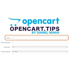 Hiding out of stock products Opencart