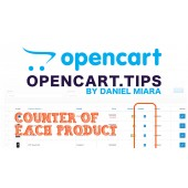 Product viewed counter OpenCart