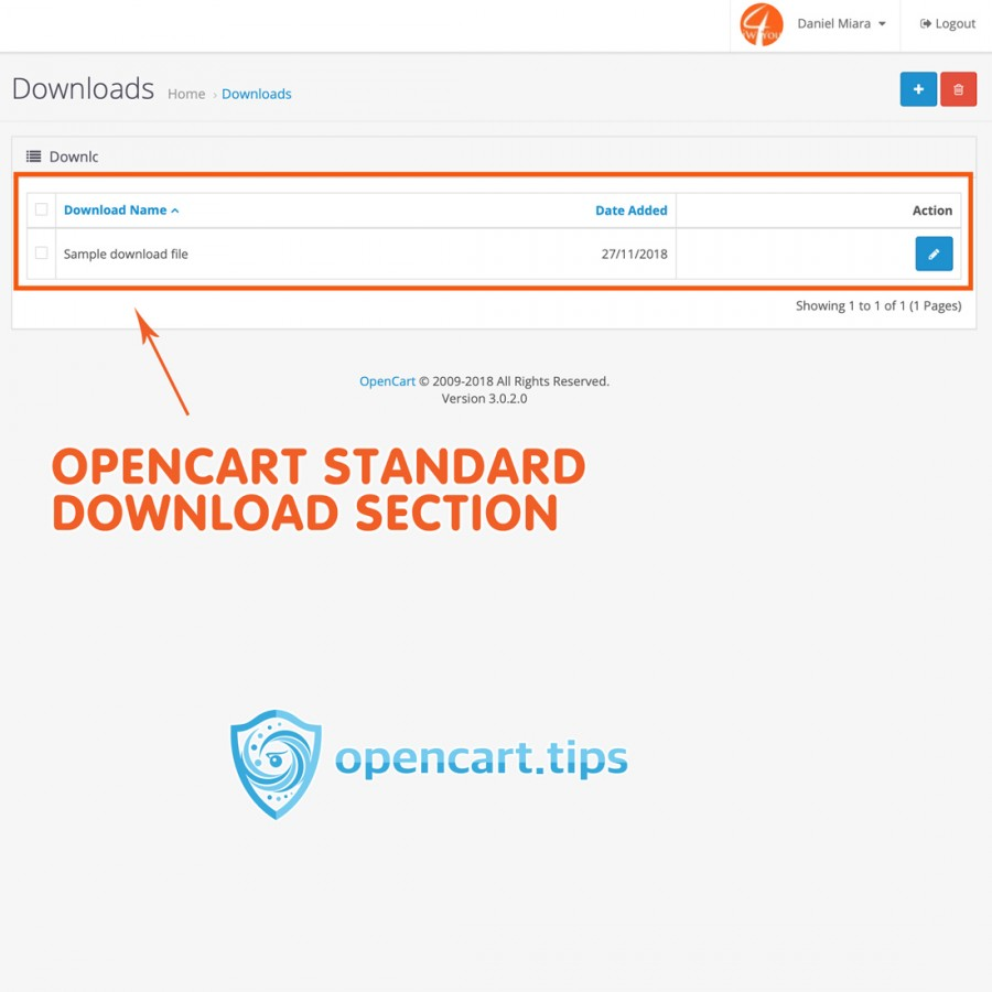 Free Download Attached Files Opencart 3