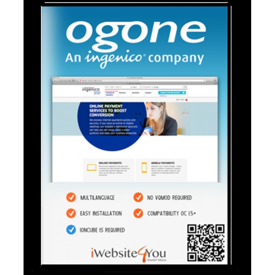 Ogone Ingenico OpenCart 1.5