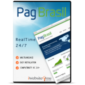 PagBrasil Credit Card OpenCart 3