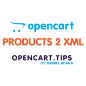 Export products to XML OpenCart 2