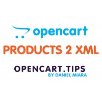 Export products to XML OpenCart 3