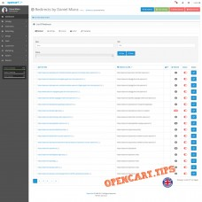 SEO Redirection OpenCart 3