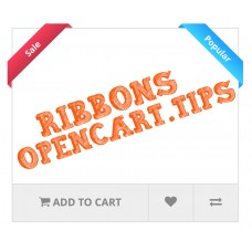Ribbons Opencart 2