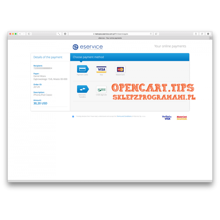 eService OpenCart