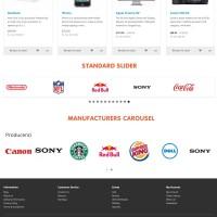Manufacturers Carousel OpenCart